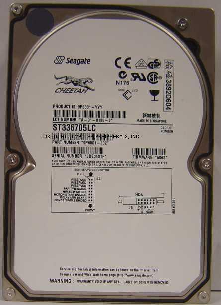 Seagate ST336705LC