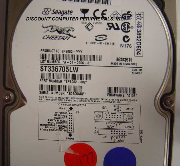 Seagate ST336705LW