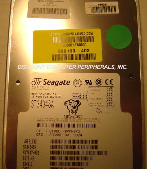 Seagate ST34348A