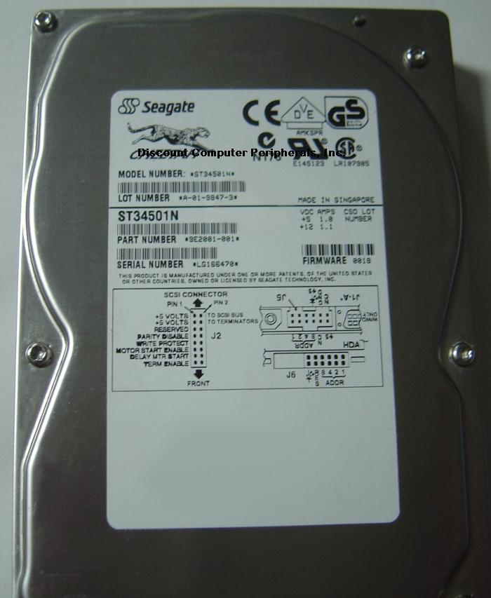Seagate ST34501N