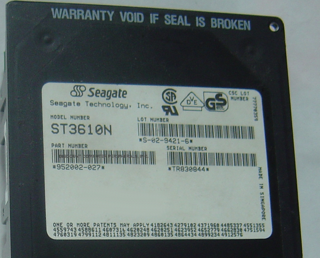 Seagate ST3610N