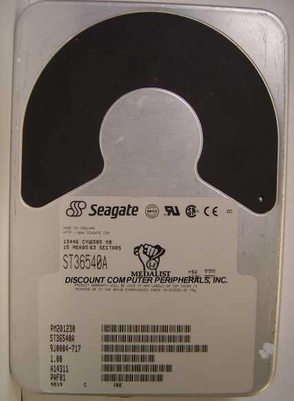 Seagate ST36540A