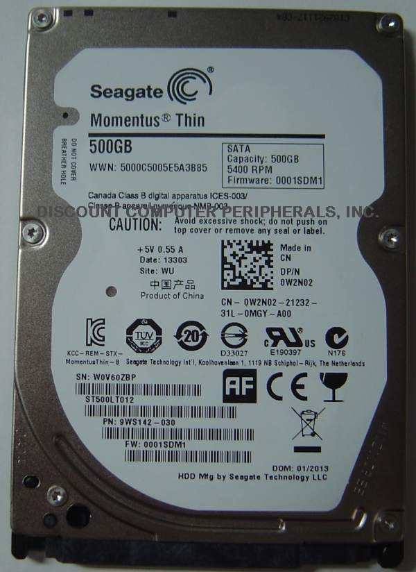 Seagate ST500LT012