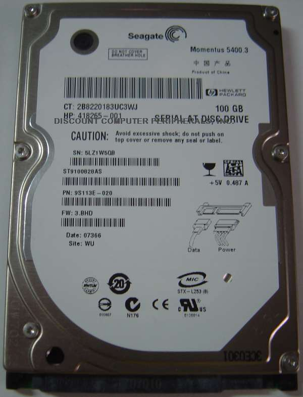 Seagate ST9100828AS