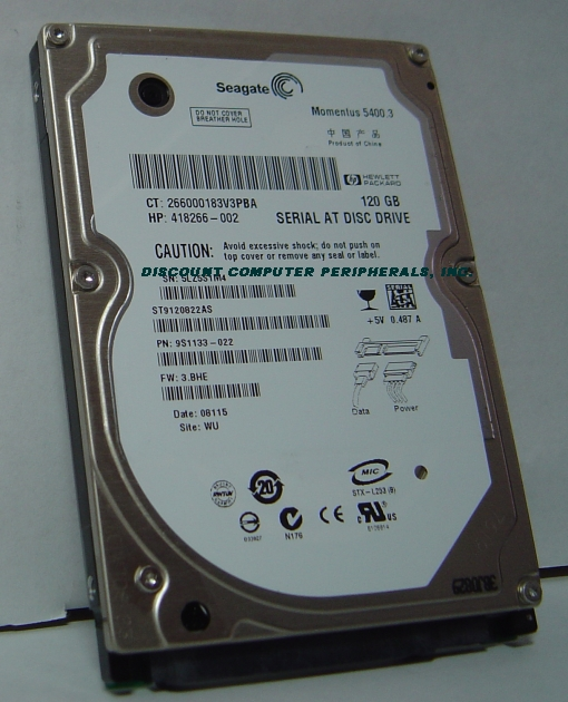 Seagate ST9120822AS