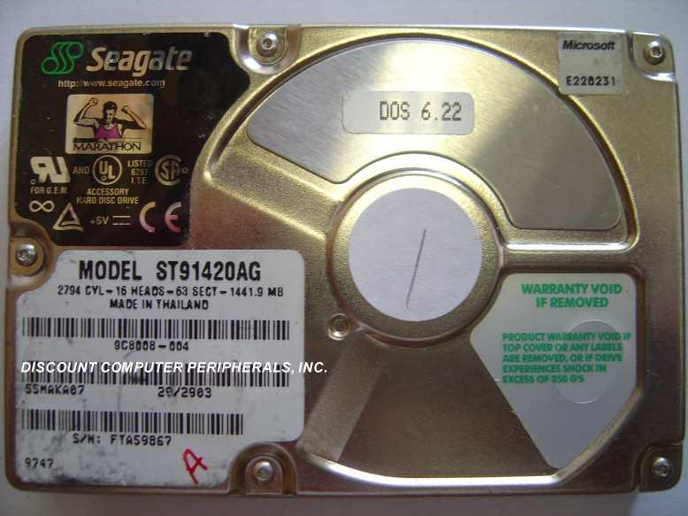 Seagate ST91420AG