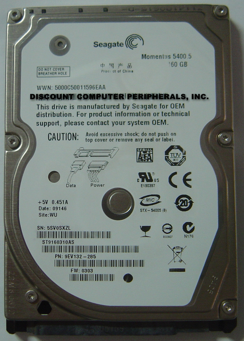 Seagate ST9160310AS_NEW