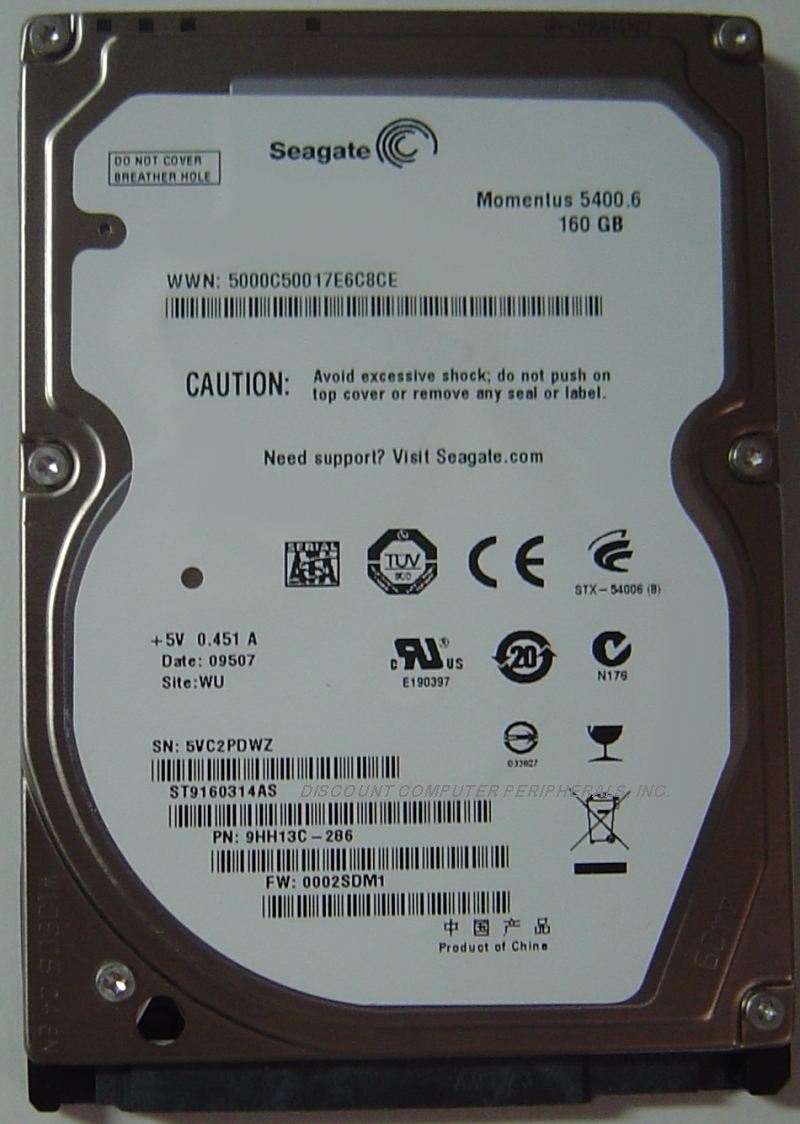 Seagate ST9160314AS_NEW