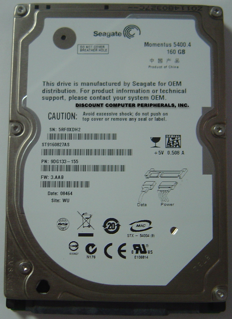 Seagate ST9160827AS_NEW