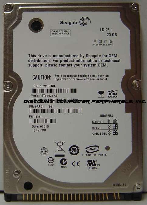 Seagate ST920217A