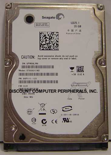 Seagate ST920217AS