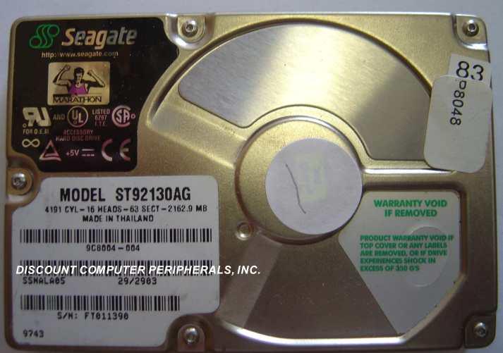Seagate ST92130AG