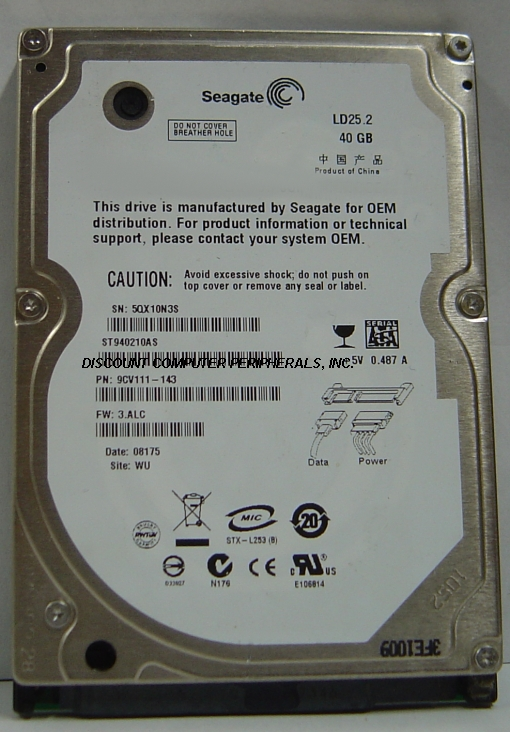 Seagate ST940210AS