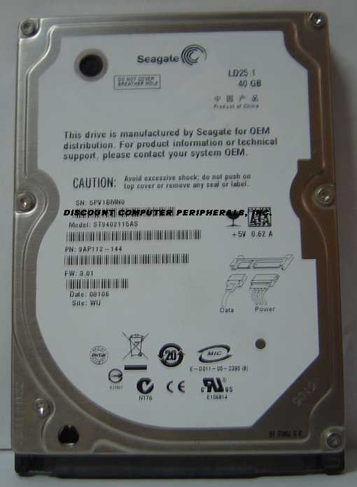 Seagate ST9402115AS