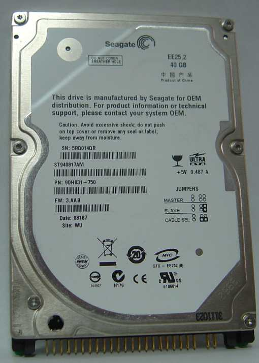 Seagate ST940817AM
