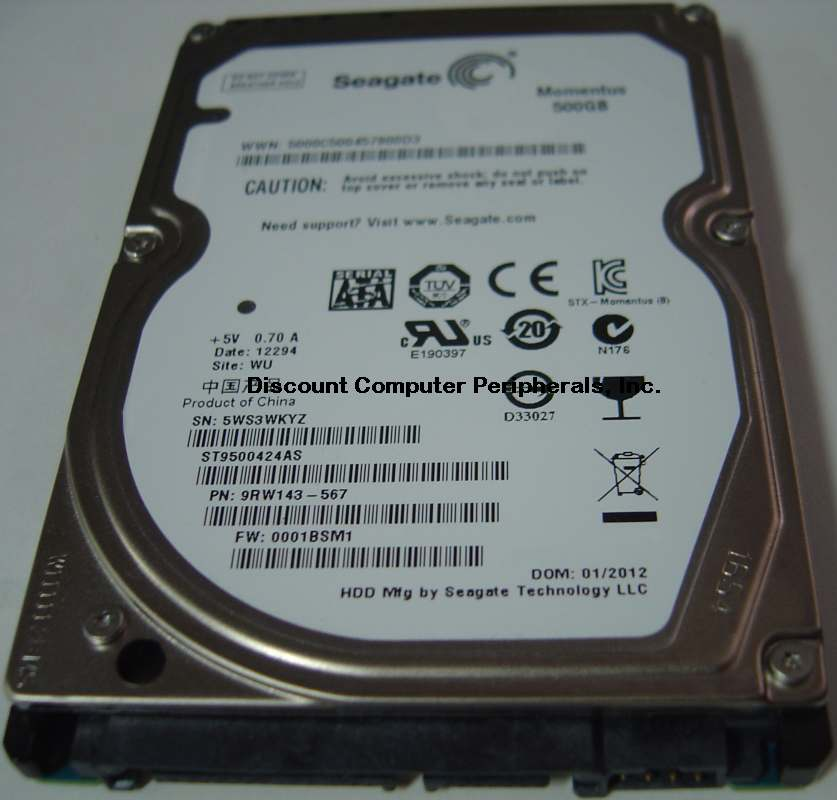 Seagate ST9500424AS
