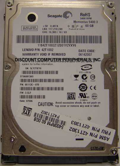 Seagate ST960813AS