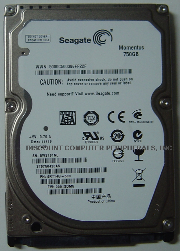 Seagate ST9750420AS