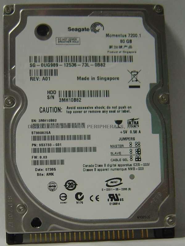 Seagate ST980825A