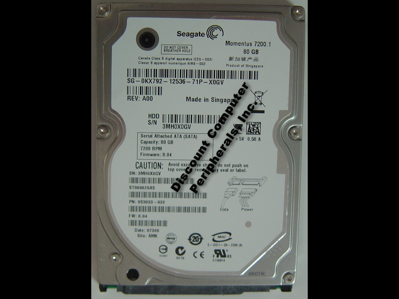 Seagate ST980825AS