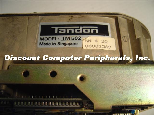 Tandon TM502