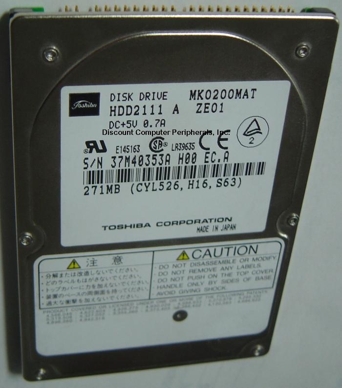 Toshiba MK0200MAT