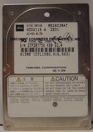 Toshiba MK0803MAT