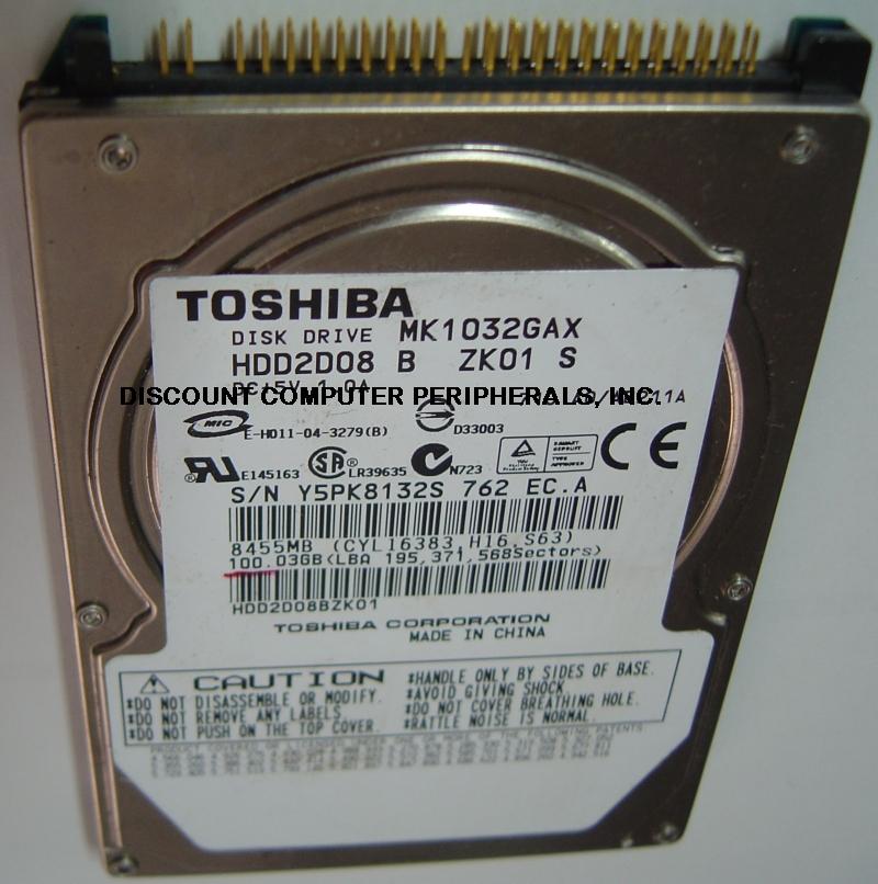 Toshiba MK1032GAX