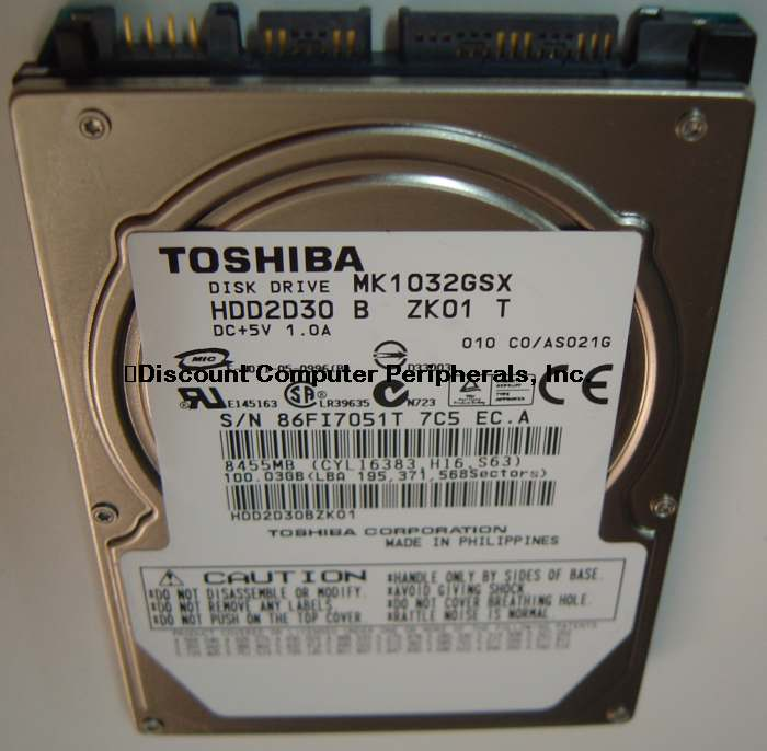 Toshiba MK1032GSX