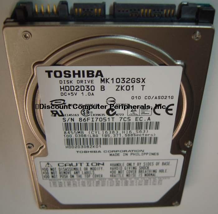 Toshiba MK1032GSX_NEW