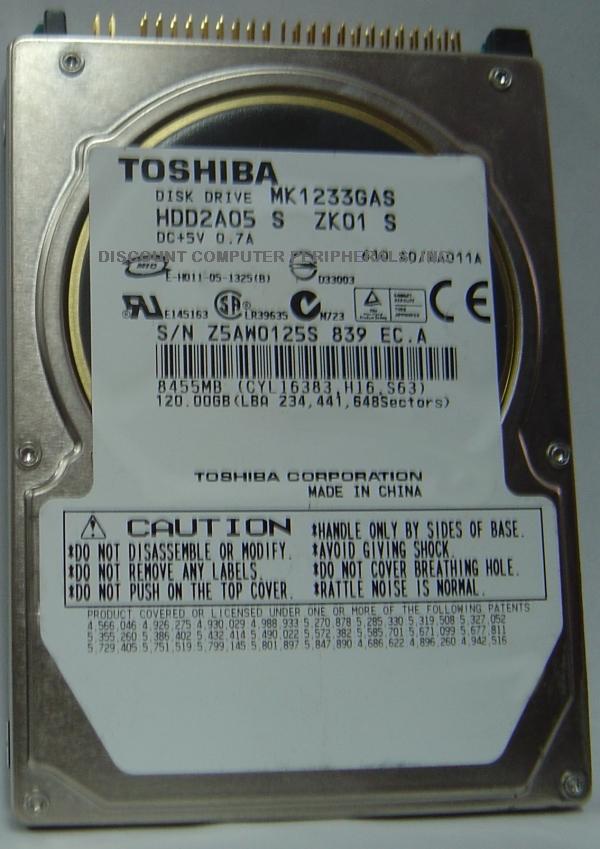 Toshiba MK1233GAS