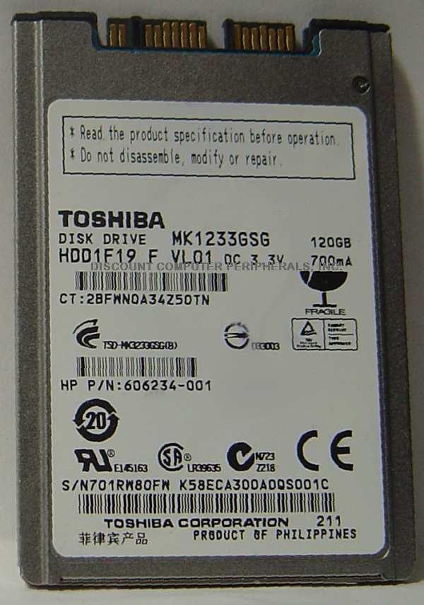 Toshiba MK1233GSG
