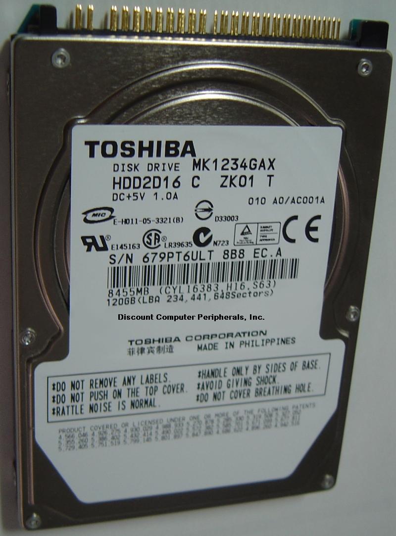 Toshiba MK1234GAX_NEW