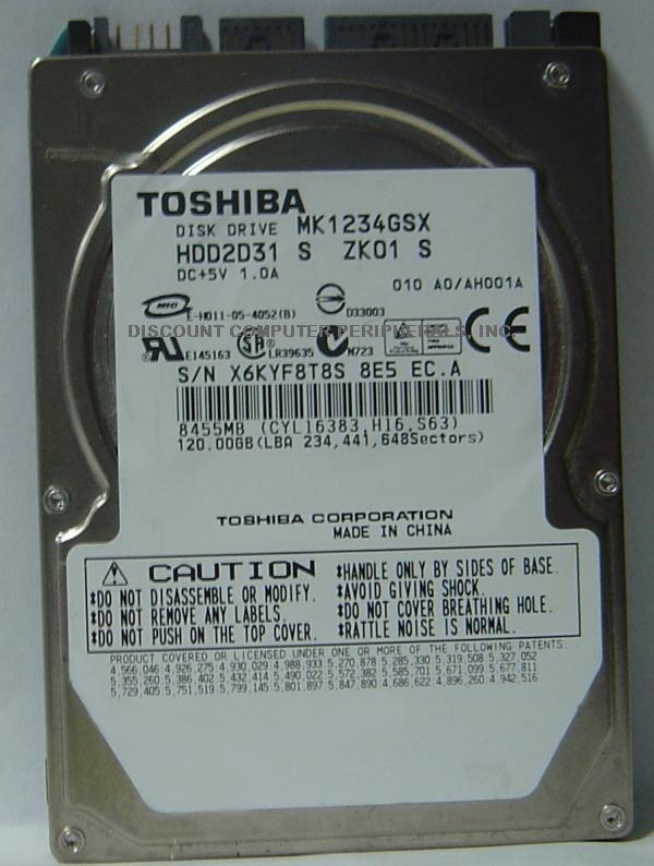 Toshiba MK1234GSX
