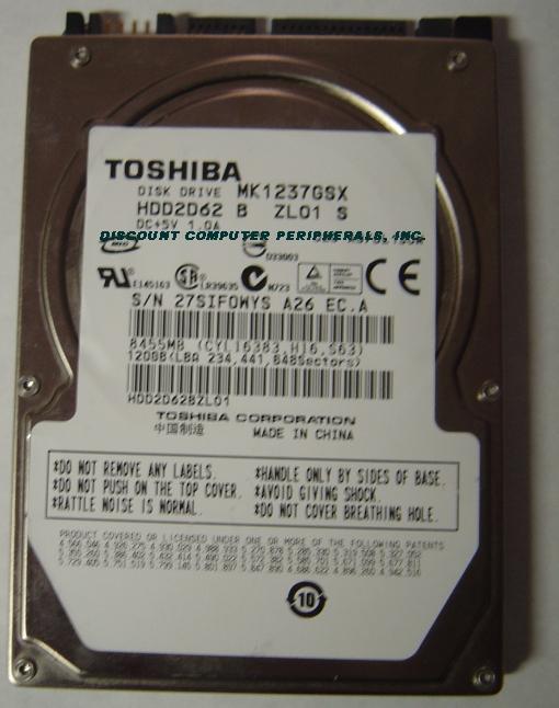 Toshiba MK1237GSX