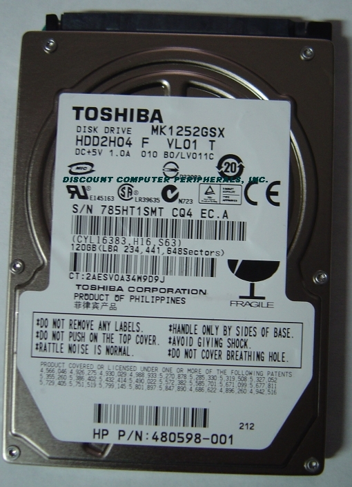 Toshiba MK1252GSX_NEW