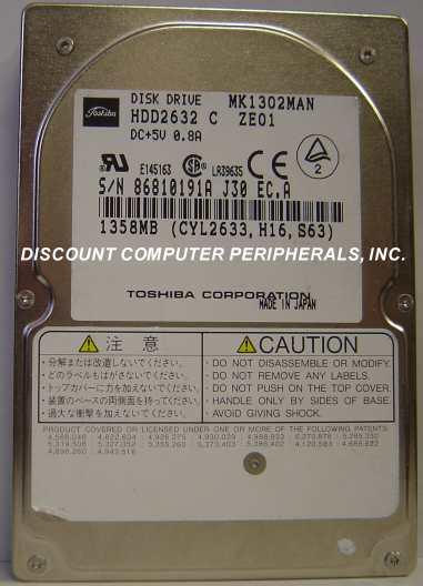 Toshiba MK1302MAN