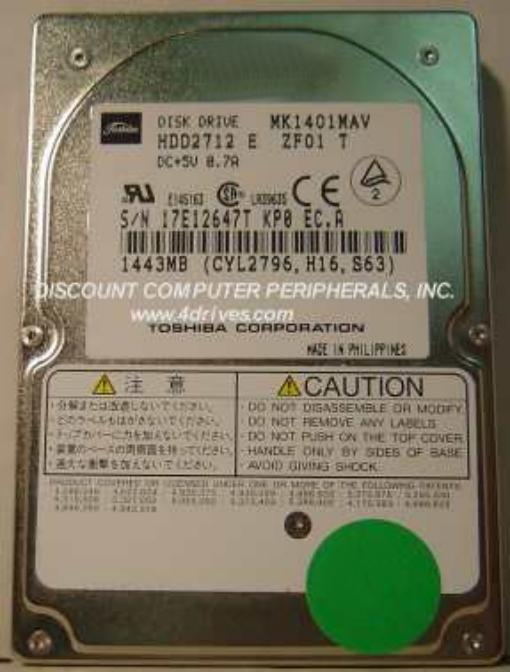 Toshiba MK1401MAV
