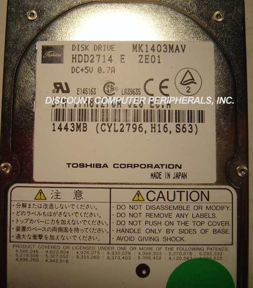 Toshiba MK1403MAV