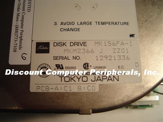 Toshiba MK156FA-I