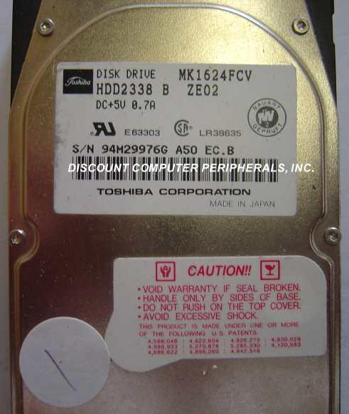 Toshiba MK1624FCV