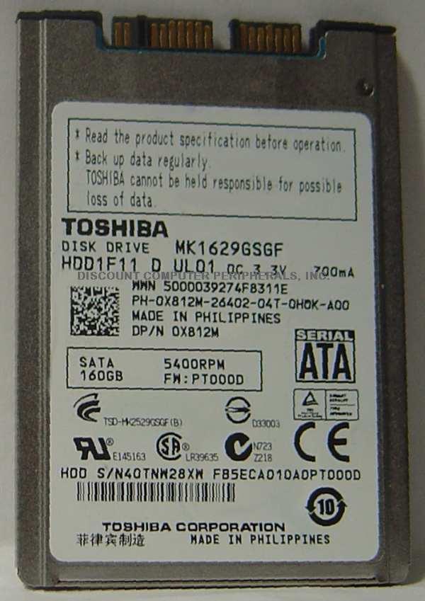 Toshiba MK1629GSGF