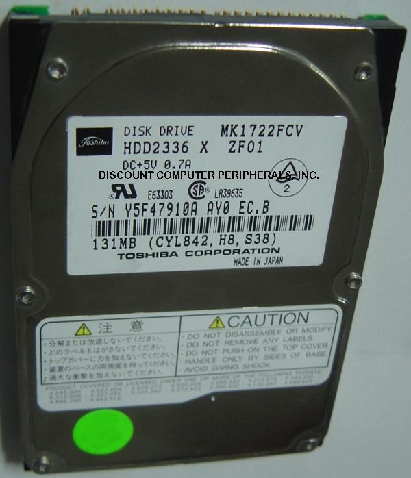 Toshiba MK1722FCV