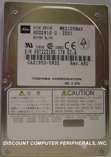Toshiba MK2105MAV