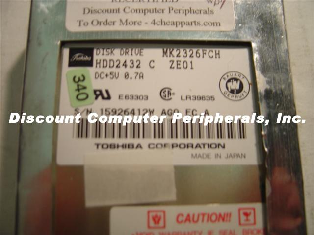 Toshiba MK2326FCH
