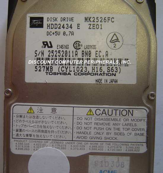 Toshiba MK2526FC