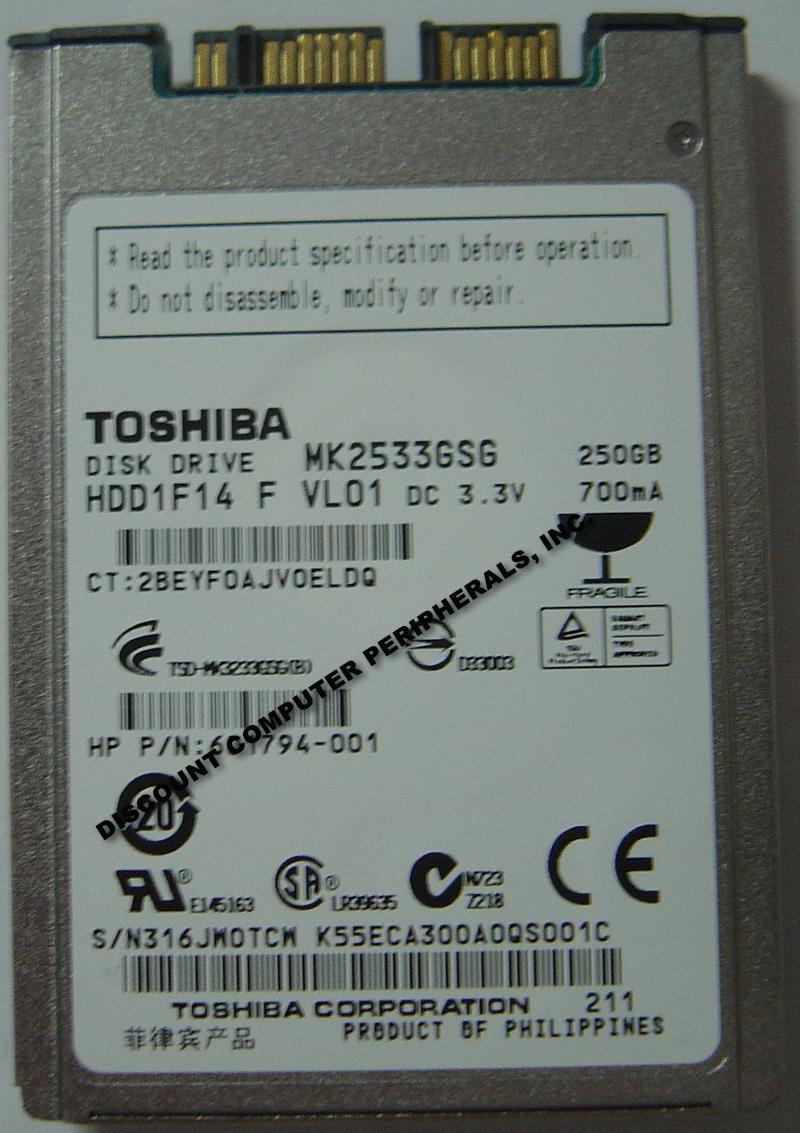 Toshiba MK2533GSG
