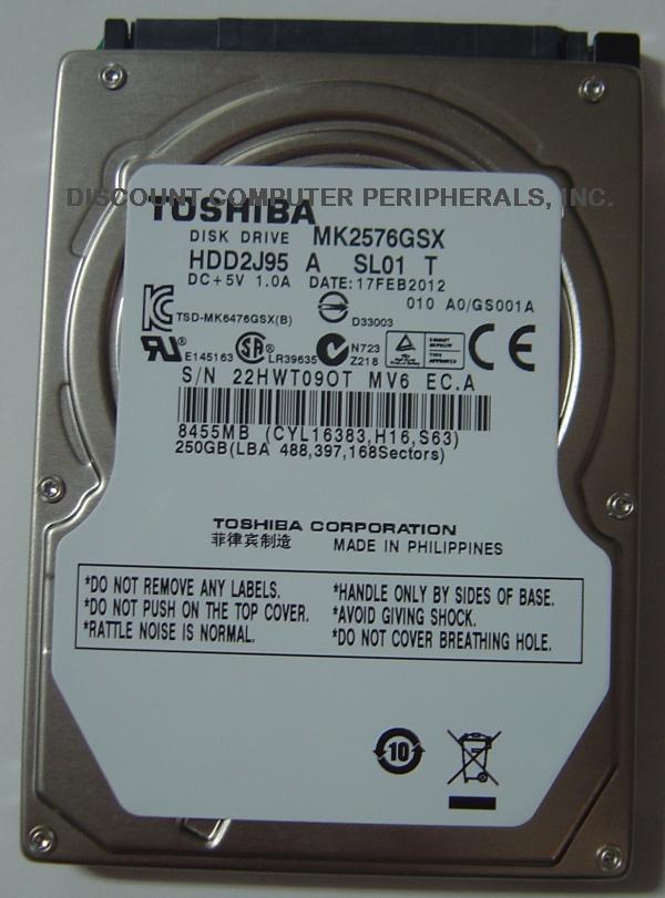 Toshiba MK2576GSX