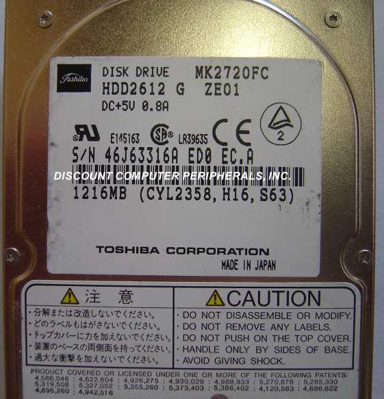 Toshiba MK2720FC