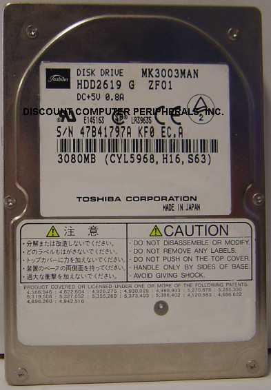 Toshiba MK3003MAN